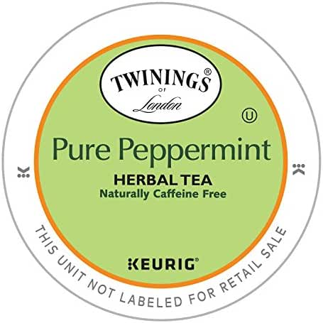 Twinings Peppermint Tea, Keurig K-Cups, 24 Count